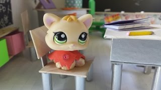 getlinkyoutube.com-Worst First Day of School?: LPS Back to School Video Series Episode 1