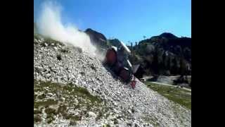getlinkyoutube.com-Fendt 828 + Plaisance BF600-2000 crushing stones *PODLIPNIK*