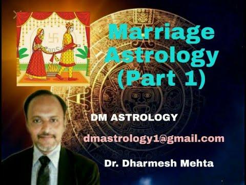 Understanding Marriage in Vedic Astrology by Dr Dharmesh Mehta Part 1