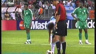 getlinkyoutube.com-Argentina 2 Nigeria 1 Mundial Sub 20 2005 Argentina Campeon del Mundo