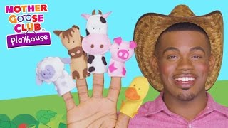 getlinkyoutube.com-Animal Sounds | Old MacDonald Had A Farm | Mother Goose Club Playhouse Kids Video
