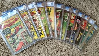 getlinkyoutube.com-New Graded Comic Books - KEY ISSUES - CGC and CBCS Collection - 1st Appearances