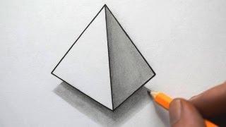 getlinkyoutube.com-How to Draw a Pyramid