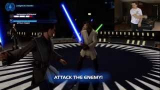 getlinkyoutube.com-Kinect Star Wars Playthrough Part 1