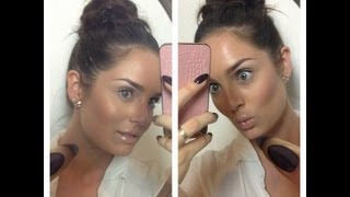 getlinkyoutube.com-Simple Everyday GLOWING & BRONZED Makeup Tutorial
