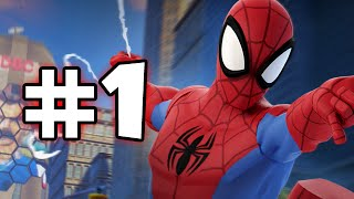 getlinkyoutube.com-DISNEY INFINITY 2 MARVEL SUPERHEROES - ULTIMATE SPIDER-MAN PLAYSET - PART 1