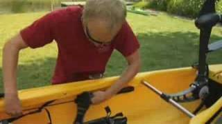 A Kayak You Can Pedal
