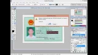 getlinkyoutube.com-Hướng dẫn scam giấy chứng minh thư bằng photoshop