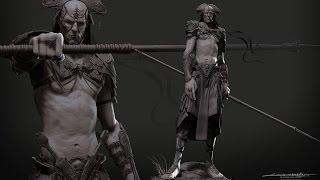 getlinkyoutube.com-Organic Modelling in ZBrush - Full Character