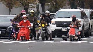 getlinkyoutube.com-【日曜日のお台場騒然爆音大会!】お台場旧車天国2015 場外 その1 Japanese old car event 2015  Part 1
