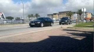 getlinkyoutube.com-President Jacob Zuma's Convoy leaving PE Airport