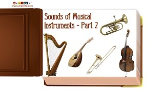 "getlinkyoutube.com-Educational Flashcards: Children's Early Learning ""Sounds of Musical Instruments Part 2"""