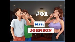 Summertime Saga Mrs. Johnson Quest | 0.14.5 | Yoga Class | Erik's Toy | Mom talks