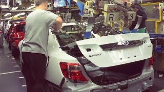 getlinkyoutube.com-Toyota Camry Production