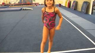 """getlinkyoutube.com-""""Back walkover"""" gymnastics"""