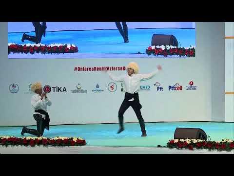 Kafkas Dans Gösterisi - 11.Uluslararası Öğrenci Buluşması Finali