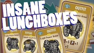getlinkyoutube.com-INSANE 40 LUNCHBOX OPENING!! Fallout Shelter