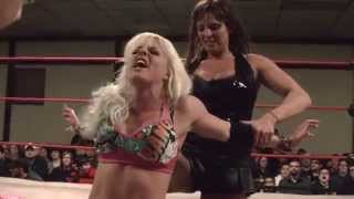 getlinkyoutube.com-[Free Match] Candice LeRae vs. Brittany Force (4/4/2015)