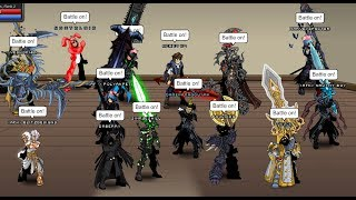 AQW Livestream - Farming for BLoD on my let's play account, PvP & Farming bosses