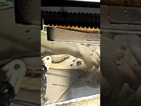 Как работает серво привод крана печки автомобиля хонда Степвагона