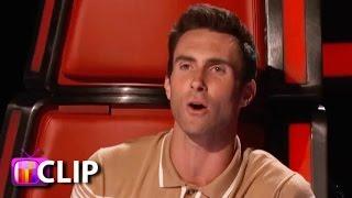 getlinkyoutube.com-The Voice Preview: Adam Makes Fun Of Blake's Music