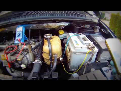 How to check the glow plug relay Chrysler Voyager проверить реле накала свечей Chrysler Voyager