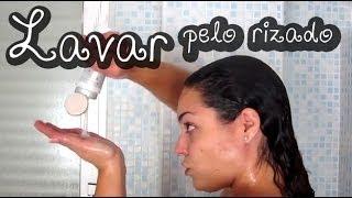 getlinkyoutube.com-Lavarse el pelo rizado u ondulado - Pretty and Olé