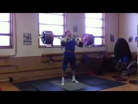 240 KG (528 lbs) Clean and Jerk by Alexey Lochev