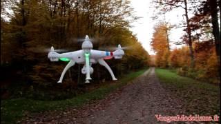 getlinkyoutube.com-Drone Syma X8C ( VosgesModelisme.fr )