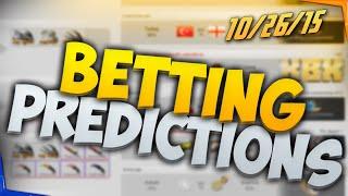 getlinkyoutube.com-CSGO Lounge Betting Predictions - Epsilon vs Piter, RCTIC vs Orgless, and More! 10/26/15