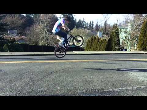 super slow moton BMX tricks