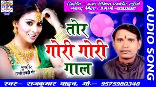 राजकुमार यादव Cg Song | Tor Gori Gori Gaal | Chhattisgarhi Superhit New Lokgeet Songs |