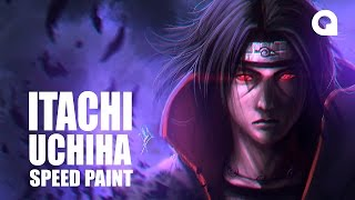 getlinkyoutube.com-ITACHI UCHIHA - SPEED PAINT