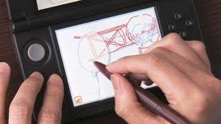 getlinkyoutube.com-ニンテンドースタッフが教える うごくメモ帳 3D 描き方のキホン
