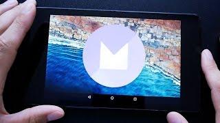 getlinkyoutube.com-Обзор Android 6.0 Marshmallow на Nexus 7 (2013)