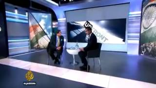 getlinkyoutube.com-Shashi Tharoor on Al-Jazeera | Mehedi Hasan asks questions him on Kashmir Issues.