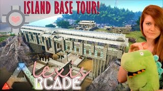 getlinkyoutube.com-ISLAND BASE TOUR! - ARK: Survival Evolved Ep. 64 (Gameplay)