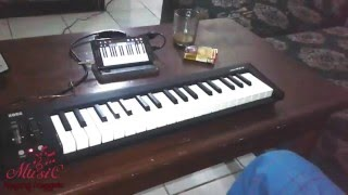 Cara menyambungkan Keyboard piano di android dengan midi