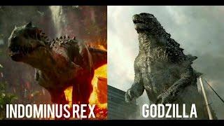 getlinkyoutube.com-Indominus Rex vs Godzilla: 2018 (HD)