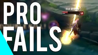 getlinkyoutube.com-Pro Players Fails Montage | Vol.2 (League of Legends)