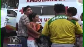 getlinkyoutube.com-TVS Noticias.- Inesperado accidente, muere aplastado, Minatitlán, Veracruz