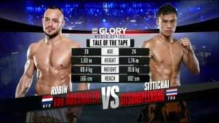 getlinkyoutube.com-Robin van Roosmalen vs Sittichai Sitsongpeenong #GLORY25 Part 1