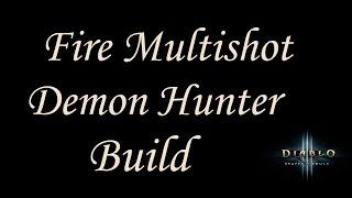 getlinkyoutube.com-[2.4.2] Diablo 3 - GR75-90+ Fire Multishot Unhallowed Essence Build - Demon Hunter Guide