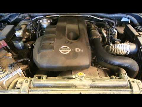 WRECKING 2010 NISSAN NAVARA ENGINE 2.5, DIESEL TURBO, YD25, D40, PLASTIC ROCKER COVER TYPE (J13440)
