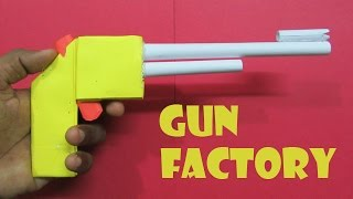 getlinkyoutube.com-How to Make a Paper Gun that shoots rubber band - Easy Tutorials