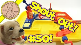 getlinkyoutube.com-Shout-Out Time! (Video #50) LPS Dave & Butch Water & Sand Play Set...Butch Drinks The Water!