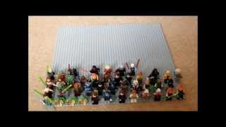 getlinkyoutube.com-100th Video Special- My Entire Lego Star Wars Jedi and Sith Minifigure Collection!