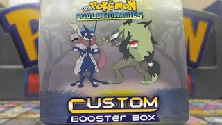 OUR VERY OWN BOOSTER BOX OF POKEMON CARDS??