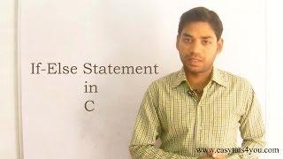 If Else Statement in C (HINDI/URDU)