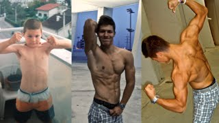 getlinkyoutube.com-Amazing body transformation 16 y/o Rok Didakovic Shredded to the bone (drug free)